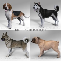 Breeds for the HW Dog - Bundle 1